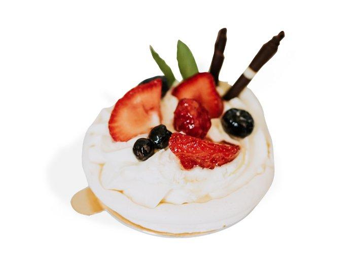 Mini pavlova tortička