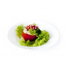Plnené paradajky na misu