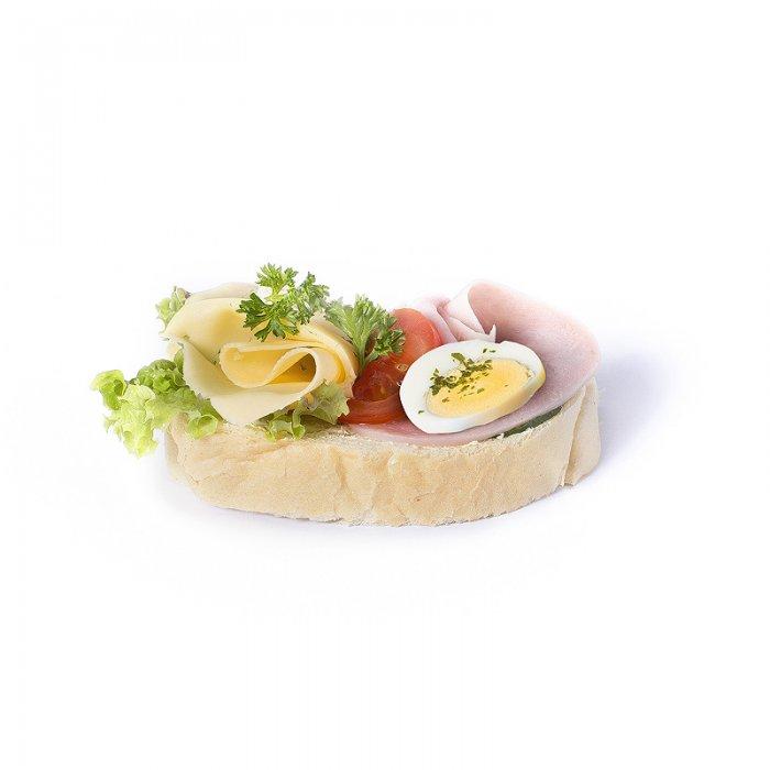 Chlebíček šunkový špeciál