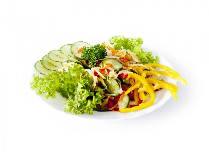Miešaný z čerstvej zeleniny